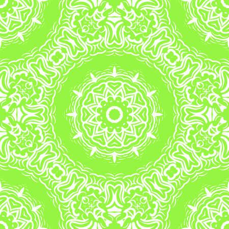 Art deco floral pattern of geometric elements. seamless pattern. Vector illustration. design for printing, presentation, textile symbol industry