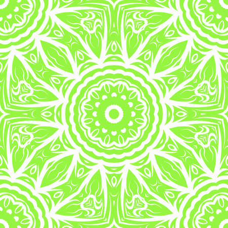 Unique, abstract floral color pattern. Seamless vector illustration. For design, wallpaper, background, fantastic print. 矢量图像