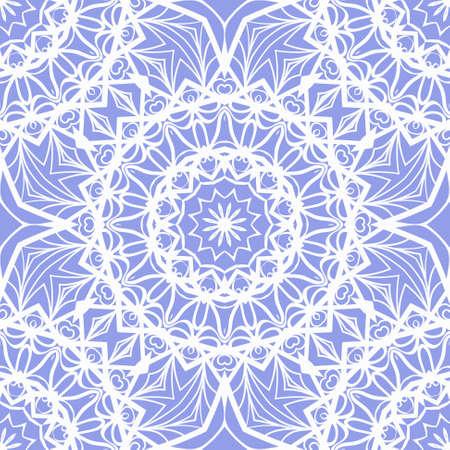 Stylish geometric background. Seamless vector illustration. Pattern for design, interior, mandala fashion.
