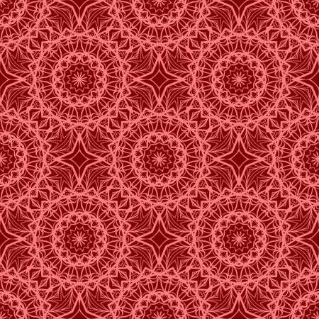 Perfect mandala. Decorative pattern in oriental style. It is fantastic vector illustration