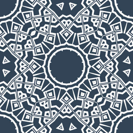 Art-deco floral pattern. Seamless. vector illustration. For invitation wedding, valentine's, background, wallpaper