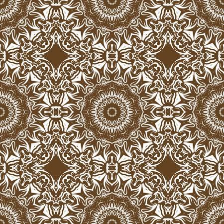 Trancsendental modern pattern with geometric art deco ornament. vector illustration. oriental design. Illustration
