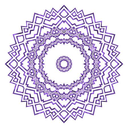Modern floral vector ornaments. Fantastyc decorative flower mandala. vector illustration Vektoros illusztráció