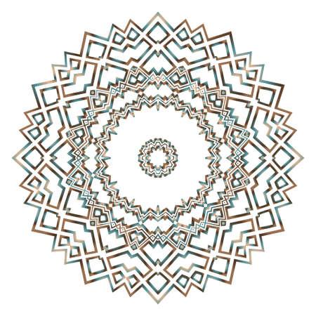 Flower beautiful mandala. Printable decorative elements. Vector illustration for design