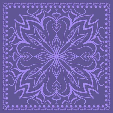 geometric floral background. Tribal ethnic ornate decoration. graphic vector illustration.
