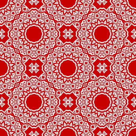 Abstract geometric ornament. Beautiful seamless vector pattern. for Card, print, kerchief design, napkin
