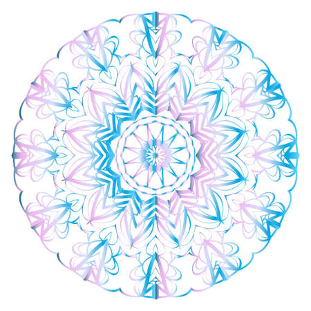 Beautiful fantasy flower ornament. seamless art-deco pattern. vector illustration. for design, wallpaper, invitation symbol