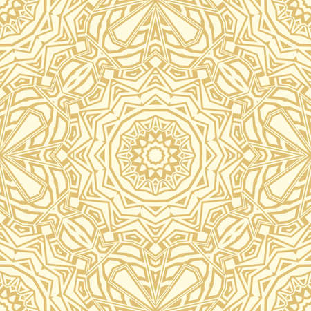 Beautiful fantasy flower ornament. seamless art-deco pattern. vector illustration. for super design, wallpaper, invitation.