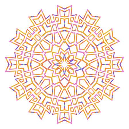 Super Creative floral mandala, decorative ornament. design for print fabric, tatto. vector