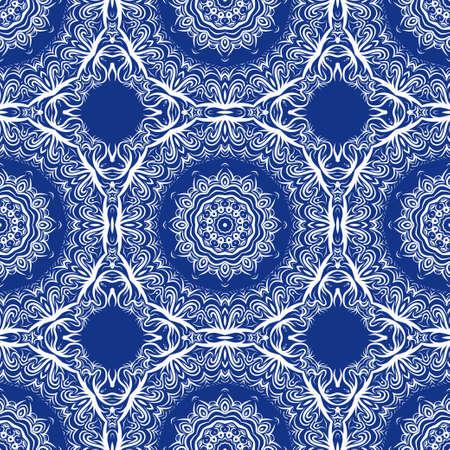 Unique, abstract floral color pattern. Seamless vector illustration. For fantastic design, wallpaper, background, fantastic print.