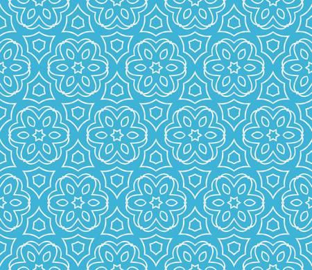 Vector illustratie. Modern art-deco geometrisch patroon. Naadloos ontwerp voor scrapbooking, achtergrond, interieur Vector Illustratie