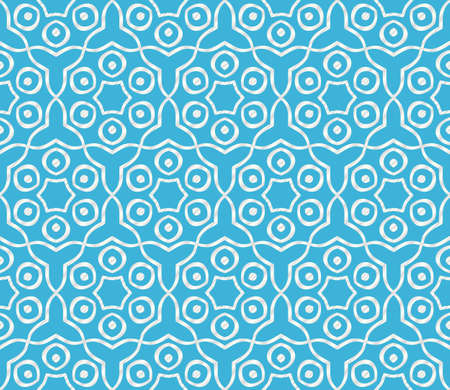 pattern with abstract geometric flower. Stylish fashion design background for invitation card. illustration.