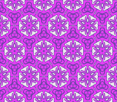 Seamless vintage , retro style floral pattern. Vector illustration. For design, wallpaper, background