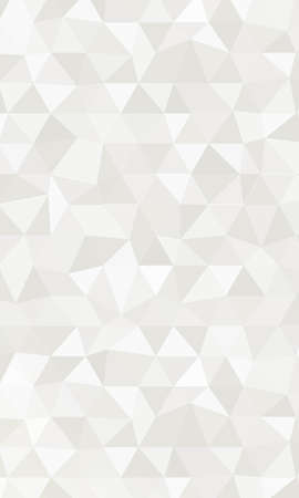 Silver Color polygonal vector illustration. Design for your business. Geometric background.