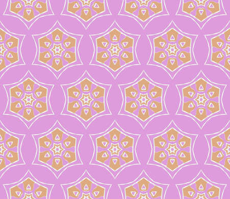 Seamless geometric line pattern in floral style, ethnic ornament. texture for wallpaper, banners, invitation cards.