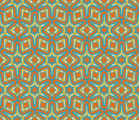 Seamless vector pattern. Floral ornament. For Interior decoration, wallpaper, presentation, fashion design.