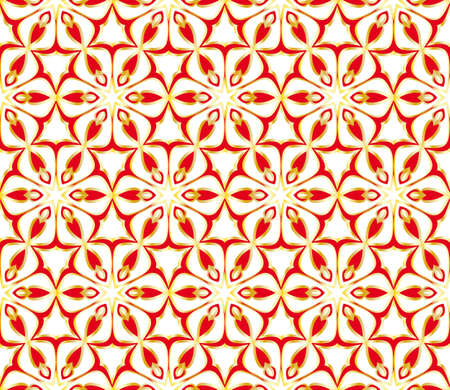 decorative ethnic ornament. Seamless vector illustration. Floral style. for printing on fabric, paper for scrapbooking, wallpaper, cover, page book.