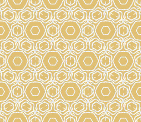 Geometric Florel Pattern. Vector illustration. For fabric, textile, scarg, super print Vettoriali