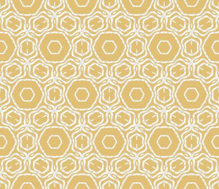 Geometric Florel Pattern. Vector illustration. For fabric, textile, scarg, super print Illustration