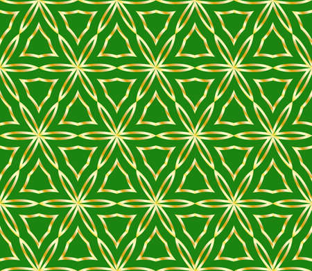 Seamless texture of geometric ornament. Vector illustration. For the interior design, printing, web and textile. Illusztráció