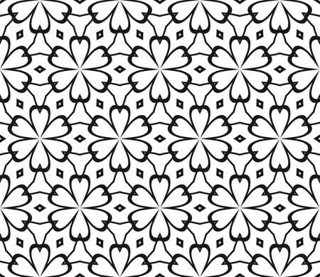 Art-deco pattern. Seamless. Vector illustration. For invitation background, wallpaper. 일러스트