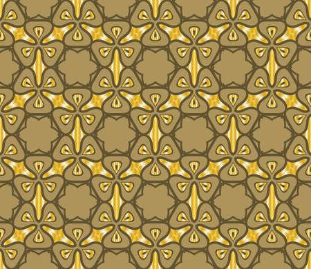 Vector illustration. Modern floral pattern. Seamless design for scrapbooking, background, interior.