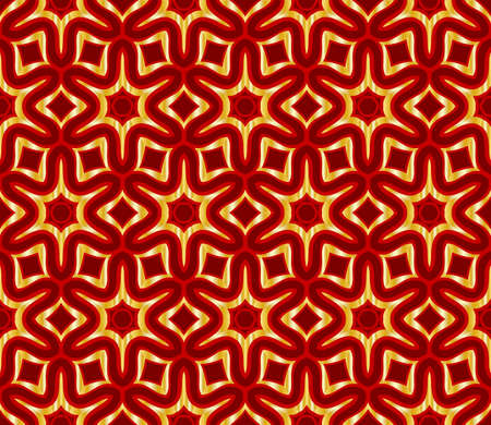 Seamless texture of floral ornament. Vector illustration. For the interior design, printing, web and textile. Illustration