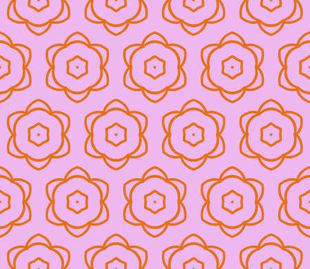 Art-deco pattern. Seamless. Vector illustration. For invitation background, wallpaper. Illustration