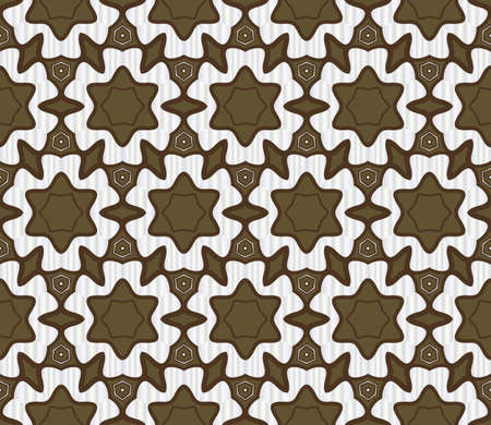 Beautiful geometric ornament. seamless art-deco pattern. vector illustration. for design, wallpaper, invitation. Illustration