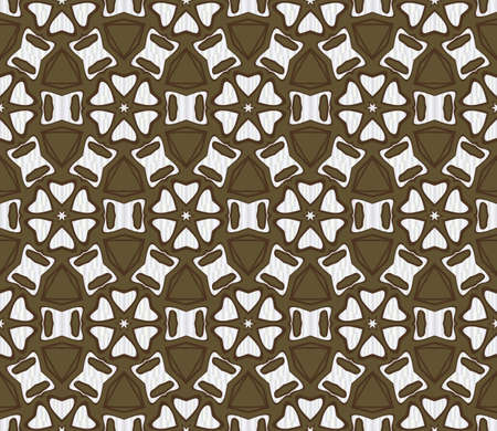 Seamless texture of floral ornament. Vector illustration. For the interior design, printing, web and textile. Ilustrace