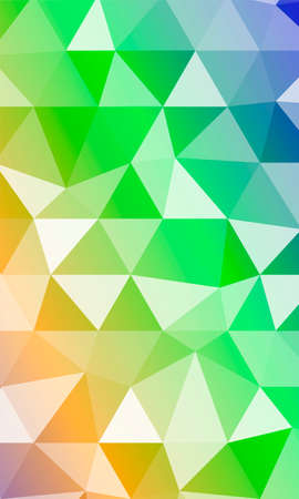 Color triangle Polygonal Background. Vector illustration.  イラスト・ベクター素材