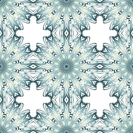 Ornamental ethnic seamless pattern. For fashion design, shawl, textile, bandanna, print, invitation card. Vector illustration Vettoriali