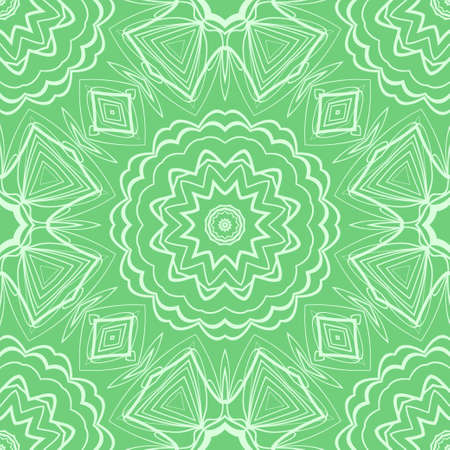 color swatches background . vector illustration with floral seamless pattern.