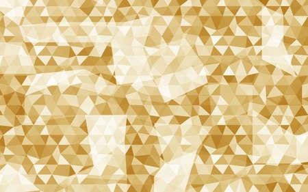 Bright Multi Color Triangles Background. Vector Illustration. For Design, Presentation.
