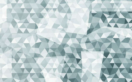 Color Triangle Polygonal Background. Vector Illustration. Geometric Background With Gradient Color. For Your Business Design, Presentation
