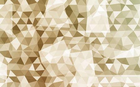 Low-Poly Triangular Geometric Background. Polygonal Mosaic Pattern. Futuristic Design. Vector illustration.