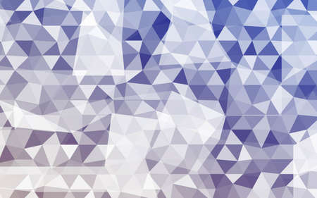 Vector Abstract Triangles Background. Geometric Background With Gradient Color. For Your Business Design, Presentation