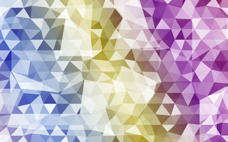 Vector Background. Color Geometric Triangles Pattern. Vector Illustration. Creative Design Template. For Your Design, Business.