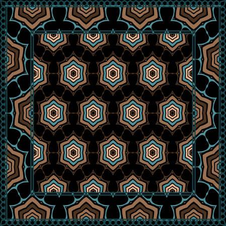 Geometric Pattern. Vector illustration. design for printing, presentation, textile industry.