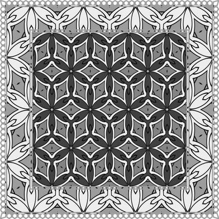 Geometric Pattern with hand-drawing ornament. illustration. Design for prints, textile, decor, fabric. Super vector pattern
