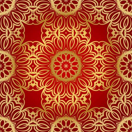 modern stylish geometry seamless pattern art deco background. Luxury texture for wallpaper, invitation. Vector illustration and handmade symbol