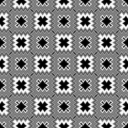 Seamless Abstract Zigzag, Geometric Pattern. For Interior Design, Printing, Wallpaper, Decor, Fabric, Invitation.