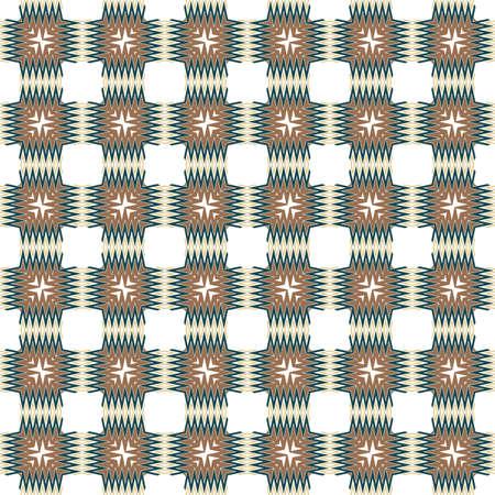Modern Hipster Geometric Seamless Pattern. Vector Illustration. For Book design, Background. Vector Illustration