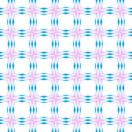 Seamless Geometric Pattern. Pattern in a Patchwork style. Vector Illustration. For Wallpaper, Fabric, Scrapbooking Design, Textures