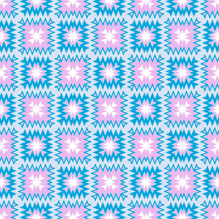 Abstract Triangle, Shape, Zigzag Pattern. Complex Geometric. Seamless Texture. For Book design, Background. Vector Illustration.