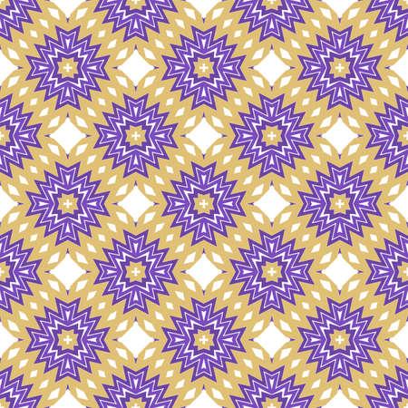 Zigzag Seamless Pattern, Vector Illustration. For Interior Design, Printing, Wallpaper, Decor, Fabric, Invitation.