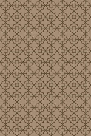 Unique, abstract geometric pattern. Seamless vector illustration. For fantastic design, wallpaper, background, fantastic print.