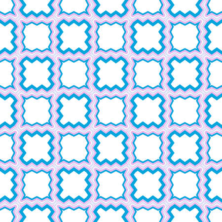 Retro Seamless Pattern. Geometric, Triangle, Zig Zag. For Wallpaper, Fabric, Scrapbooking Design, Textures. Vector Illustration.
