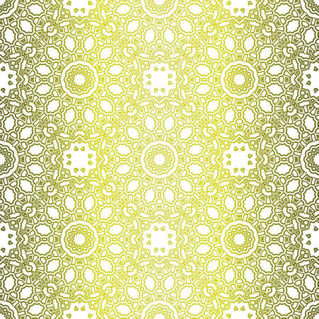 Modern Stylish Geometry Seamless Pattern Art Deco Background. Luxury Texture For Wallpaper, Invitation. Vector Illustration. Ilustrace