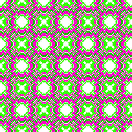 Seamless geometric Pattern with Zigzags, Triangles. For Textiles, Book design, Background. Vector Illustration